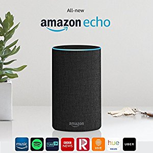 picture of the new amazon echo product available to buy from amazon